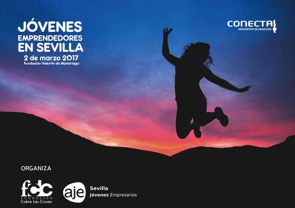 Emprender en Sevilla: Participamos en CONECTA, jornada organizada por AJE y la Fundación Cobre las Cruces